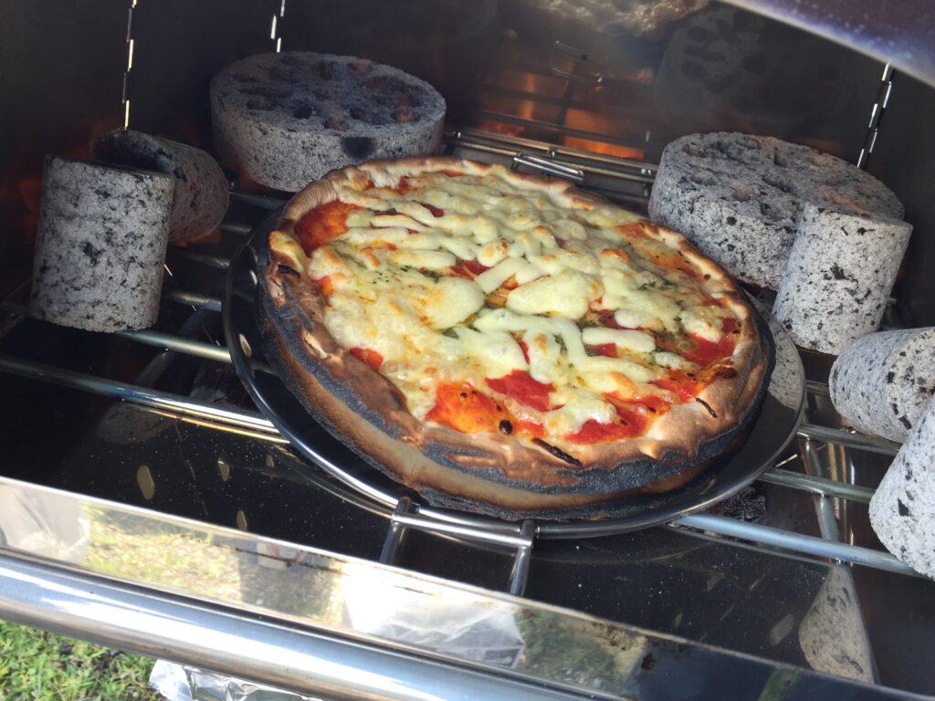 ピザ 焦げすぎ